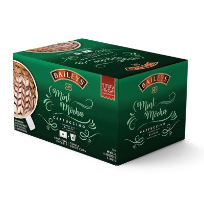 Bailey's Mint Mocha Cappuccino - 2 Step Single Serve (6 pack)