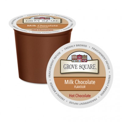 Grove Square Creamy Original Hot Chocolate Single Serve (24Pack)