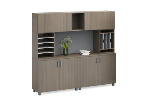 Modern Credenza With Hutch