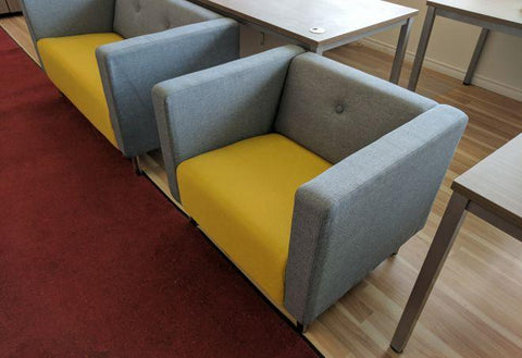 Modern Reception Club Chair