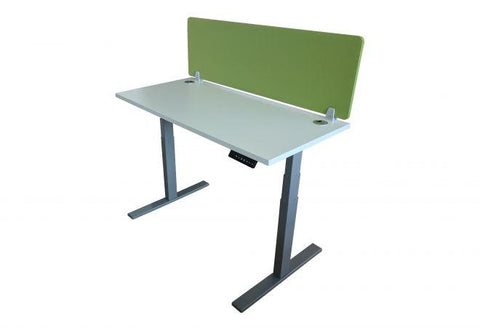 Hq Height Adjustable Straight Desks