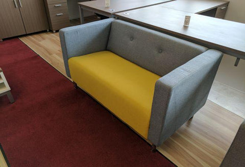 Modern Two Seater Reception Couch