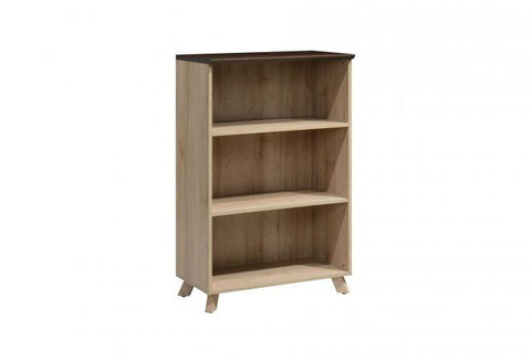 Medium Height Open Shelf Cabinet