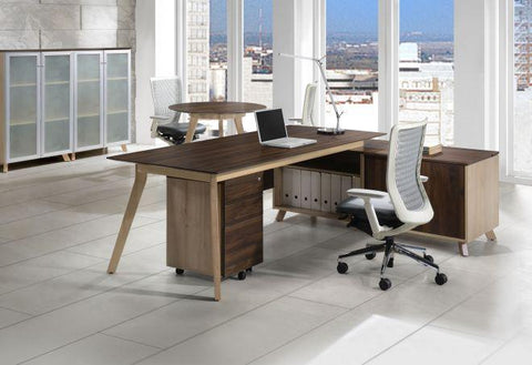 Executive L Shaped Desk