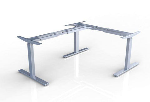 High Quality L Shaped Height Adjustable Desk Frame