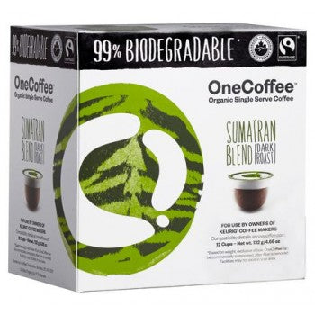 One Coffee Sumatran Blend Single Serve Coffee (18 Pack)
