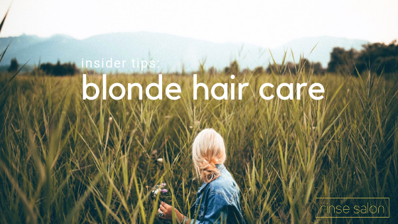Our #1 Tip for Keeping Your Blonde Healthy All Year Long