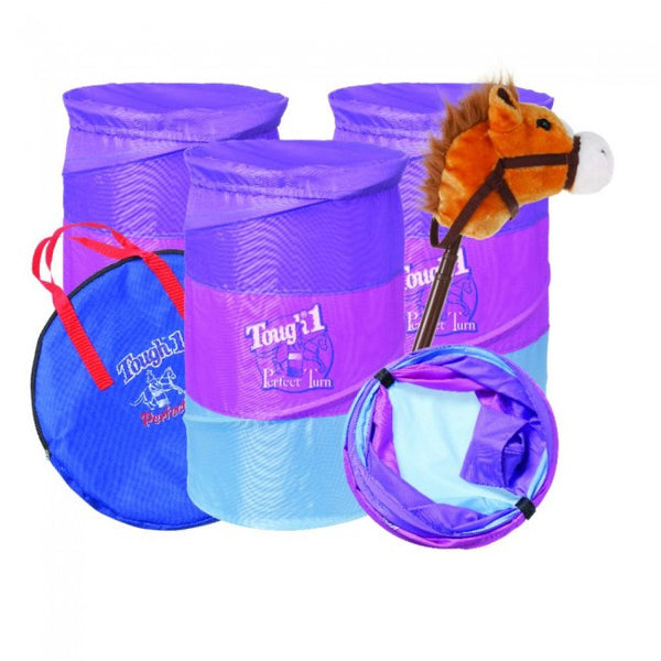 Jr. Barrel and Stick Horse Gift Set