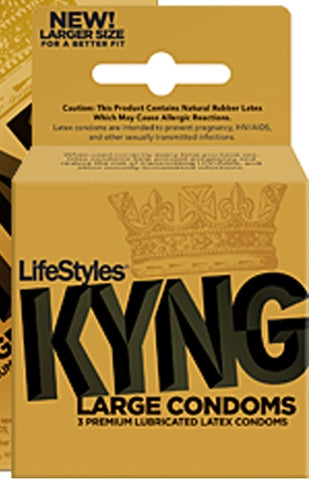 Lifestyles King - 3 Pack LS9803