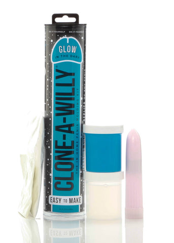 Clone-a-Willy Glow-in-the-Dark Kit - Blue BD8193