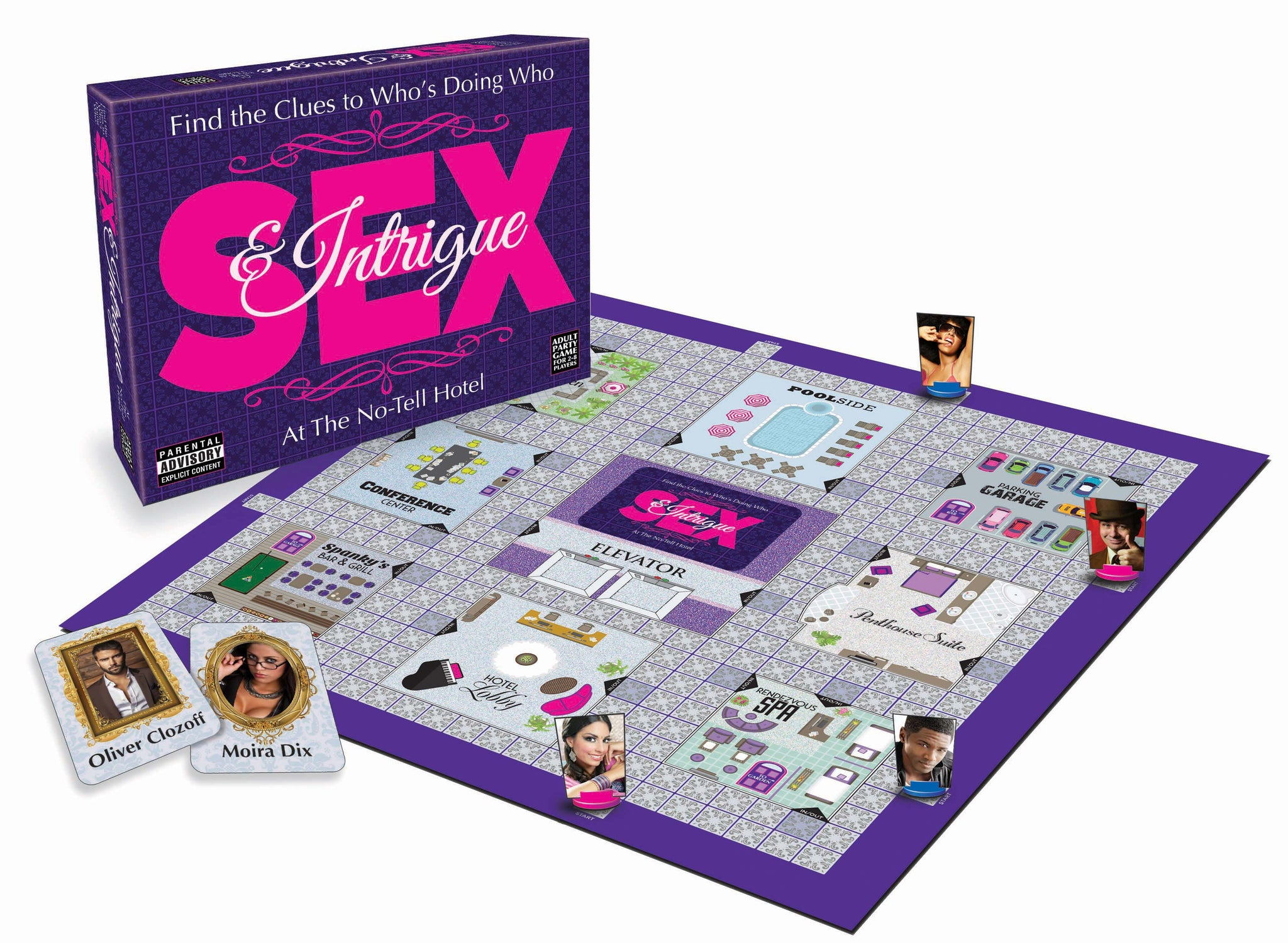 Sex and Intrigue Board Game LG-BG062