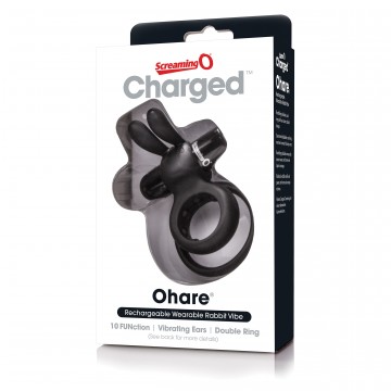 Charged Ohare Rechargeable Rabbit Vibe