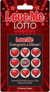 Love Me Lotto 12 Winning Tickets! LG-BG070
