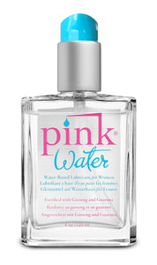Pink Water Water-Based Lubricant 4 Oz. 120ml PNK-XPW4