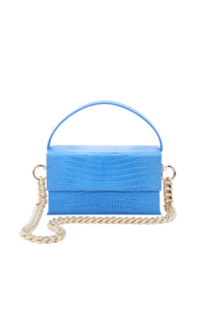 Ida Blue Lizard (Small) with chain