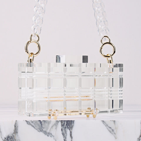 Lucite Grace with Chain