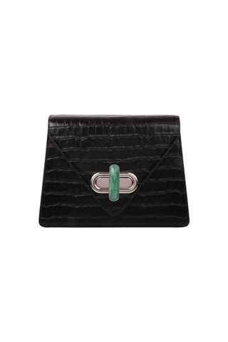 Diba V Flap in Black