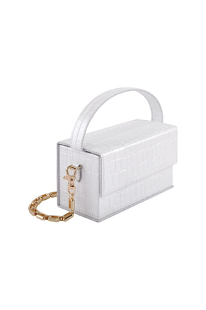 White Ida (Small) with Chain