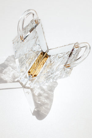 Eva Crushed Ice (Gold Hardware)