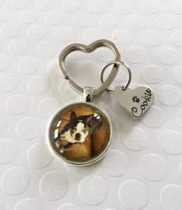 Pet jewelry - Dog necklace - Photo pendant w