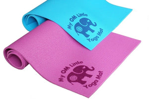 My OM Little Yoga Mat- Perfect Size for Babies,