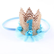 Princess Girl Head Accessories 2016 Baby Newborn Hairband Baby Hair Band Elastic Flower Crown Headwear #LSW