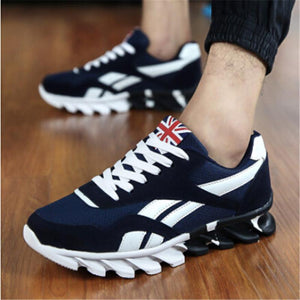 Men Running shoes Mesh Breathable