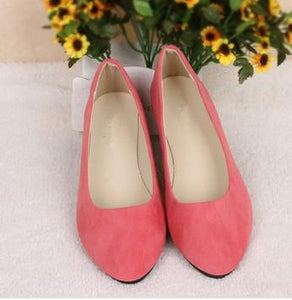 JIANBUDAN Women casual flat shoe