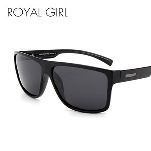 ROYAL GIRL Men Polarized Sunglasses Classic Brand Designer Men Oval Driving Shades Sun glasses UV400 ms017
