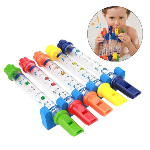 Kids Bath Water Flutes Bathing Toys