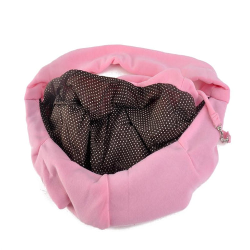 Hands-free Small Dog Cat Sling Carrier Bag