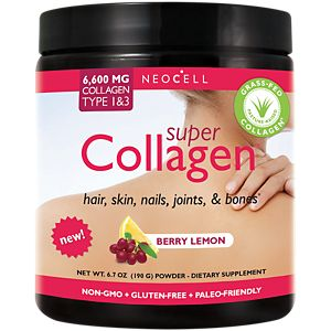 Collagen Powder Berry Lemon