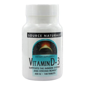 Vitamin D3 400 IU 100 Tablets
