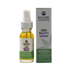 Inesscents CBD Oil Balance Beauty Serum 0.5oz