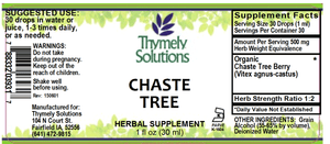 Chaste Tree Berry 1oz