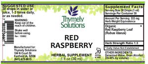 Red Raspberry 1oz