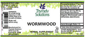 Wormwood 1oz
