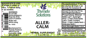 Aller-Calm/Allerg-Ease 1oz
