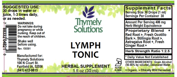 Lymph Tonic 1oz