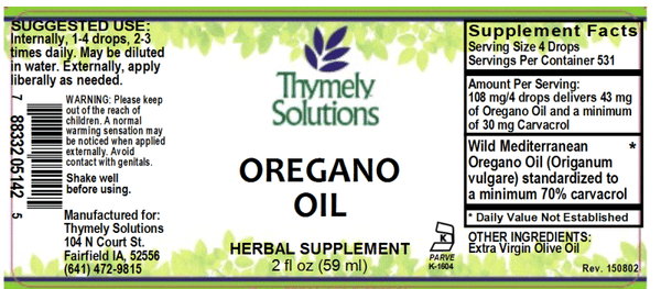 Oregano Oil 2oz