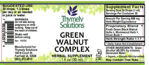 Green Walnut Complex 1oz