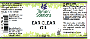 Ear Clear Oil 1oz