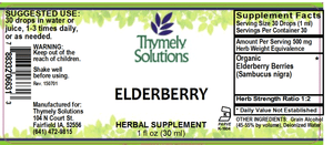Elderberry 1oz