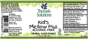 Kids Mellow Plus 1oz Af