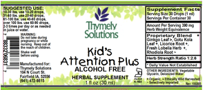Kids Attention Plus 1oz Af