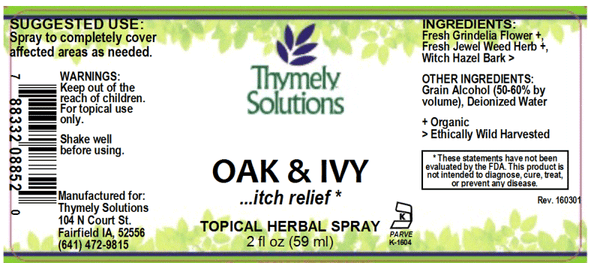 Oak & Ivy Topical 2oz