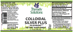 Colloidal Silver Plus 1oz