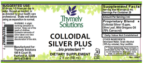 Colloidal Silver Plus 2oz