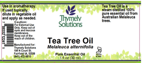 EO Org Tea Tree 1oz
