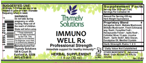 Immuno Well Rx 1oz